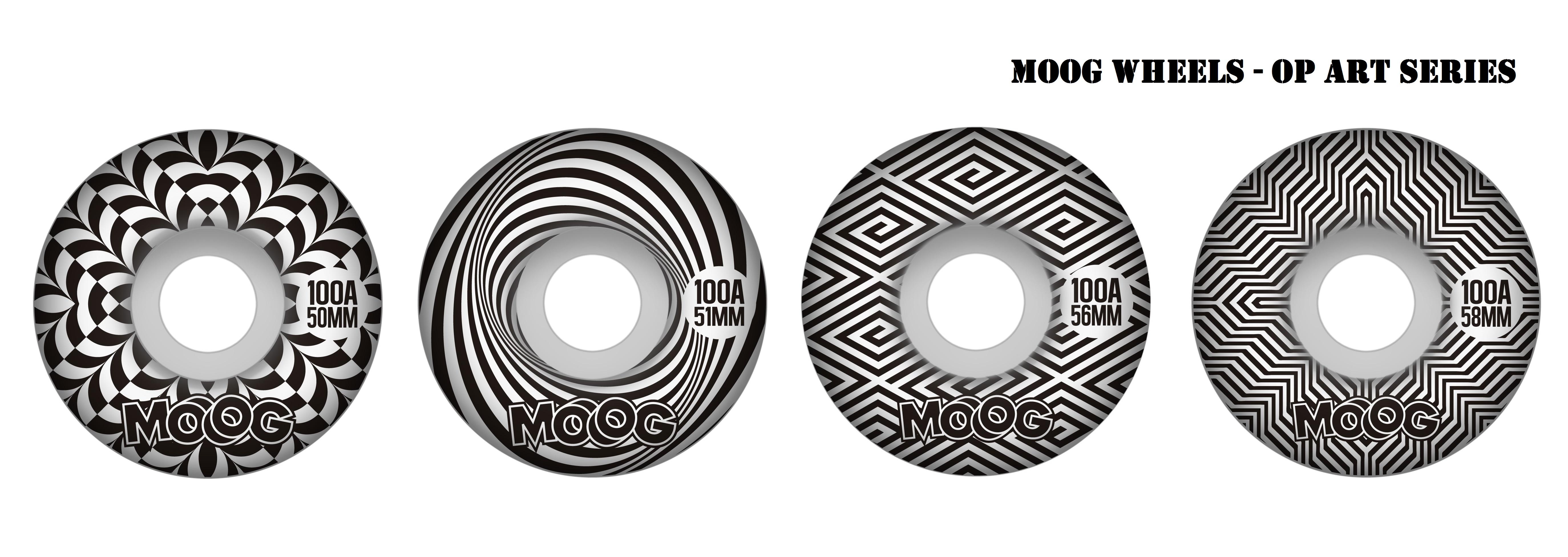 Rodas Moog Op art