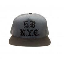 BONE 5BORO GOTHIC NYC SNAPBACK AZUL/PRETO