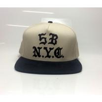 BONE 5BORO GOTHIC NYC SNAPBACK CINZA/PRETO